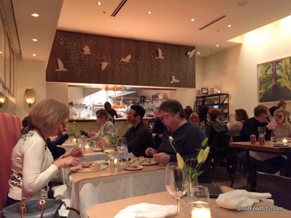 Niche Restaurant interior