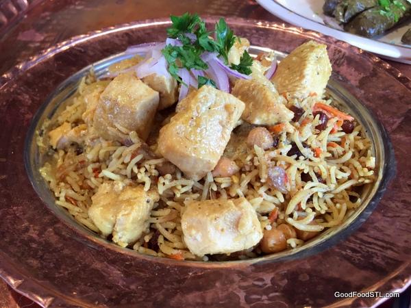 Chicken Biriyani at Sheesh Turkish Restaurant