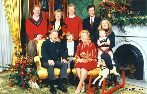 Christmas at the Mansion with the Carnahan family, 1994
