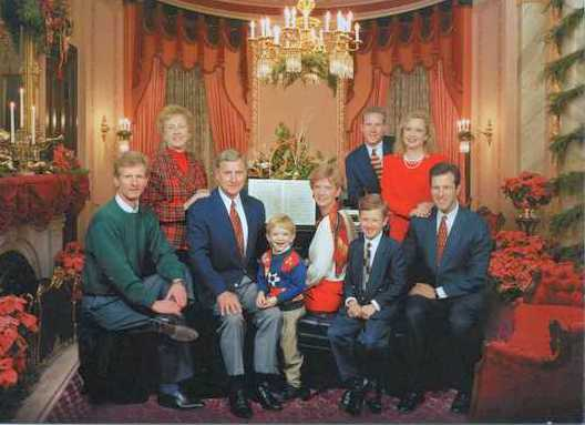 Christmas at the Mansion with the Carnahan family, 1997