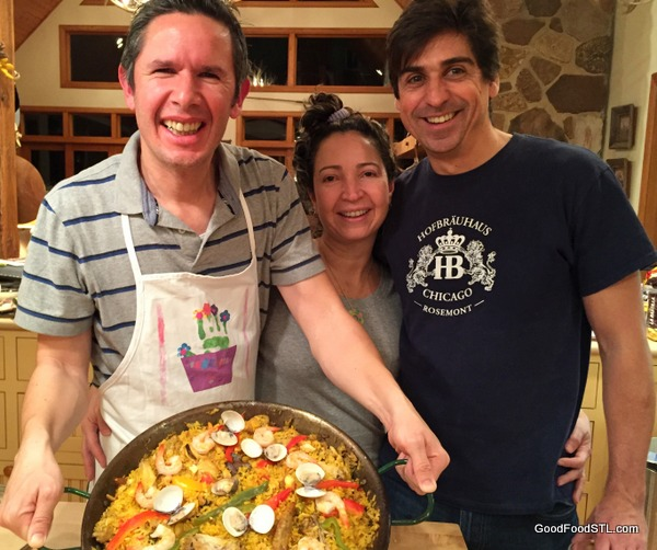 Paella  for New Year's Eve