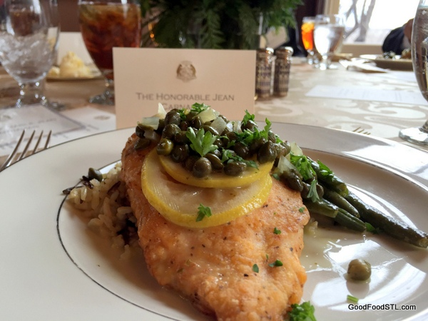 squire's lunch at the Missouri governor's mansion