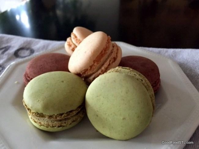 Macarons from La Bonne Bouchee