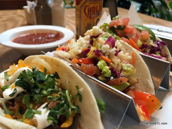 Tacos at Canyon Cafe
