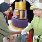 Queen Elizabeth and the Wonky Birthday Cake
