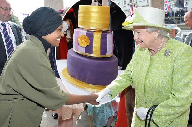 queen birthday cake