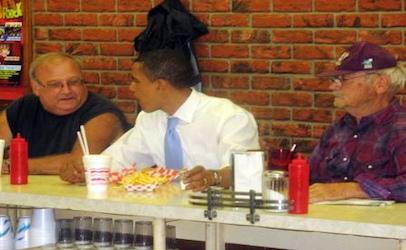 Obama Maid-rite Newton Iowa 2007