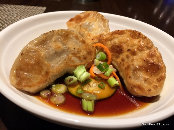Hiro's chicken potstickers