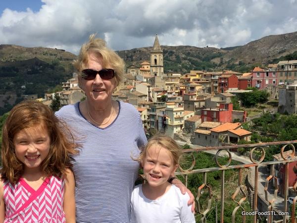 View from Novara d'Sicilia