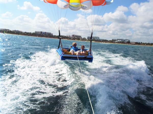 parasailing Gulf of Mexico