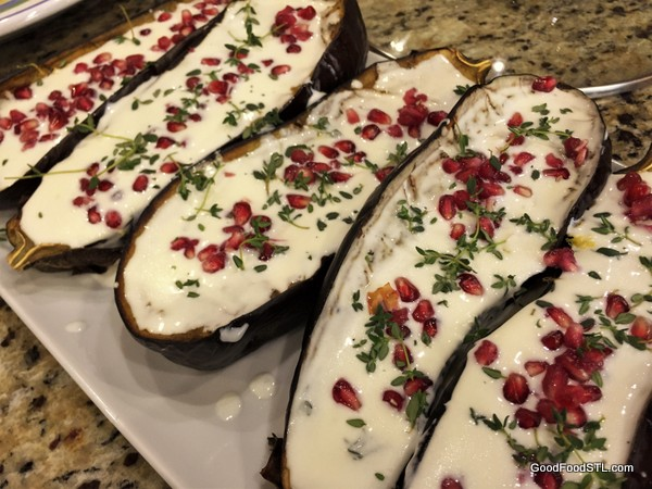 Yotam Ottolenghi's Roasted Eggplant Dip