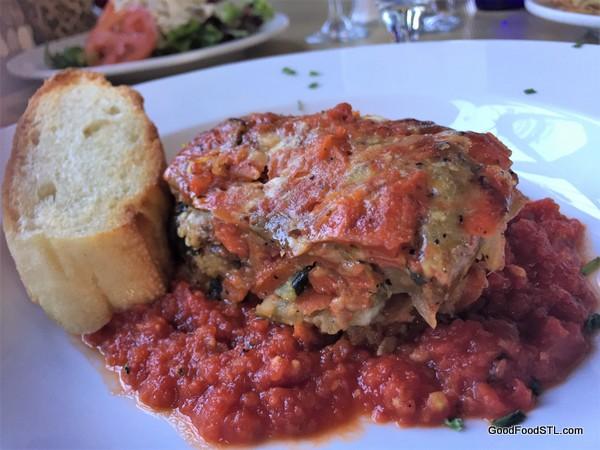 SqWires Restaurant Vegetable Lasagna