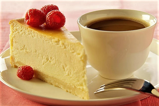 white chocolate cheese cake