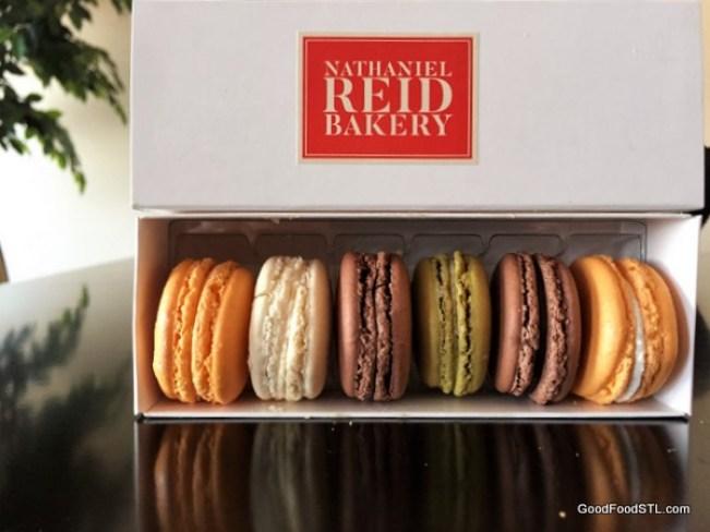 Macarons from Nathaniel Reid Bakery