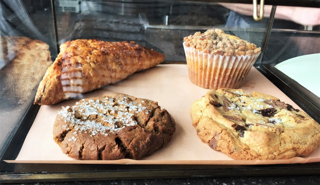 Cookies and desserts from Vicia Restaurant