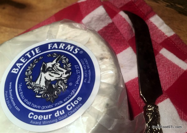 Coeur du Clos goat cheese Baetje Farms