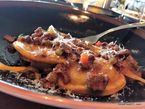 Cielo's Carrot Ravioli