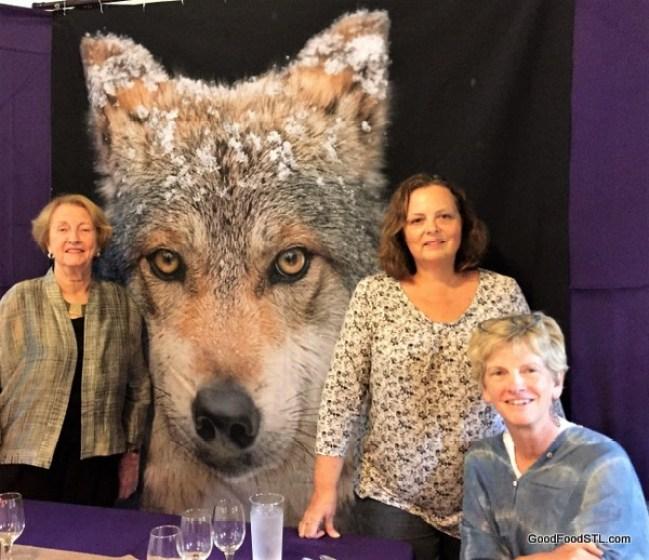 Endangered Wolf Center fundraiser