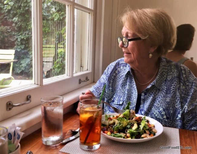 Salad lunch at Osage