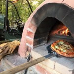 Making Pizza in a Cob Oven, Part 1