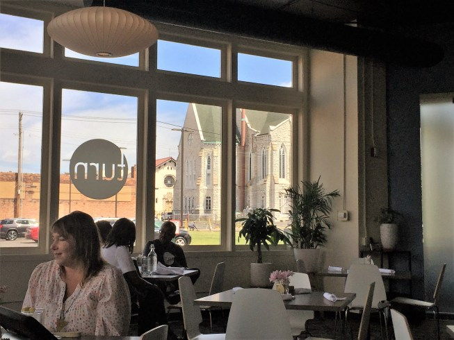 Turn Restaurant interior