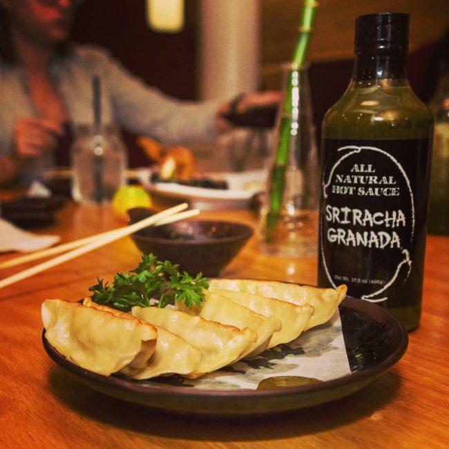 Sriracha Granada sauce