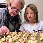 Kids and Christmas Cookies