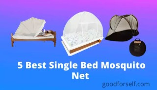 5 best single bed mosquito net in India