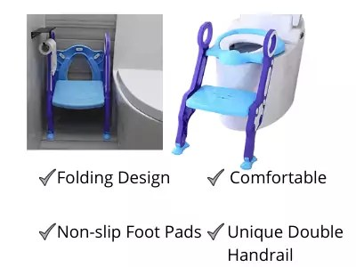 GOCART Baby Foldable Potty Chair