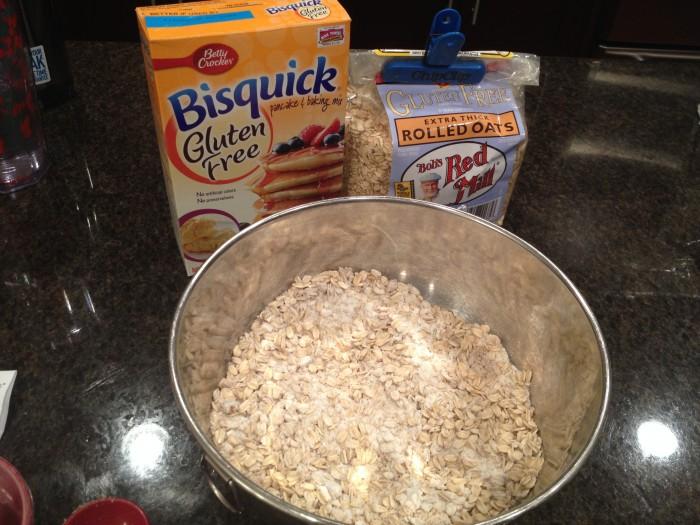 Gluten free Bisquick scone recipe