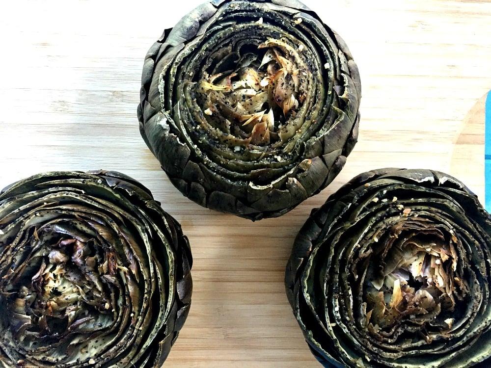 Roast an Artichoke 3
