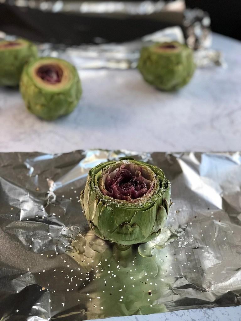 How to Roast an Artichoke 2a
