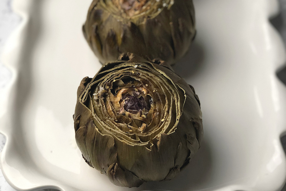 Roasted Artichokes header