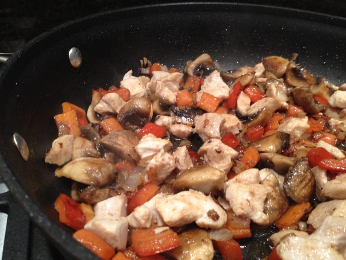 Chicken and Vegetable Stir Fry Gluten Free