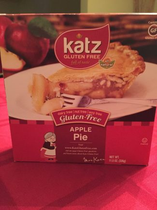 Katz Gluten Free Apple Pie
