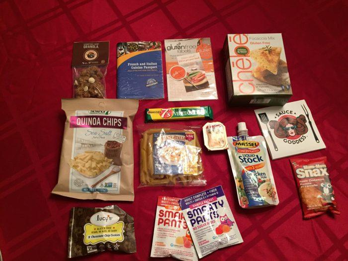 Inside Send Me Gluten Free