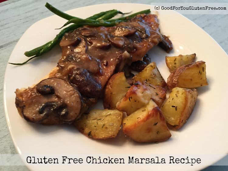 Gluten Free chicken marsala recipe