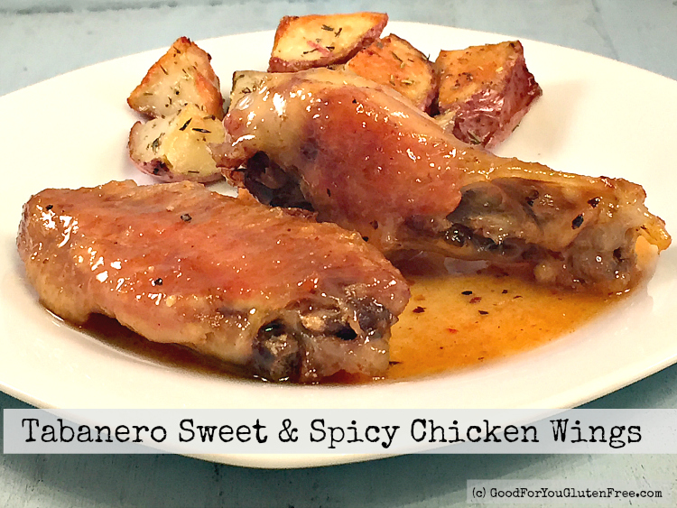 Tabanero Sweet & Spicy Chicken Wings Recipe – Gluten Free!