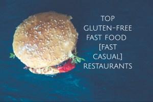 Top Gluten-Free Fast Food Restaurants - header