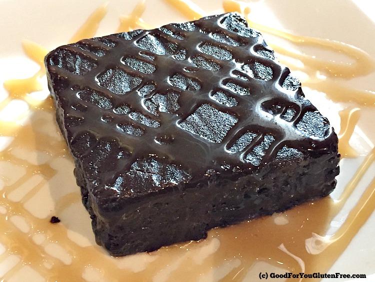 Rice Bistro Chocolate brownie GF