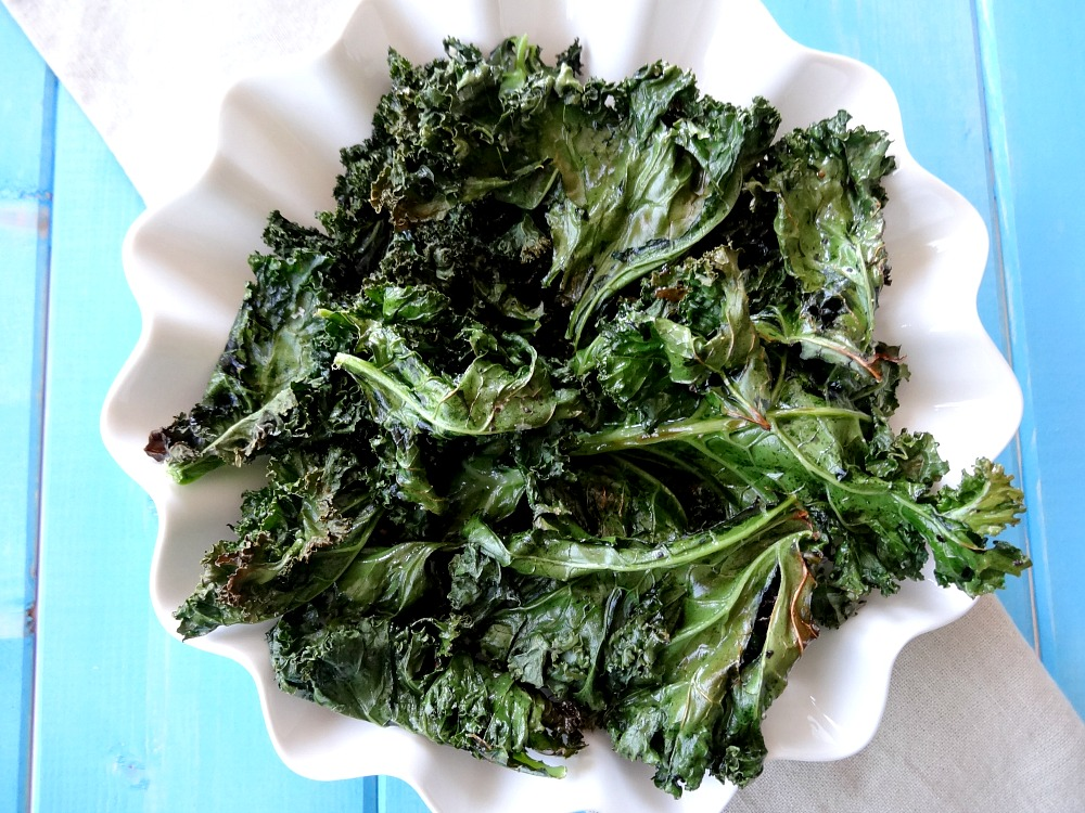 How to Make Kale Chips 2 - Good For You Gluten Free