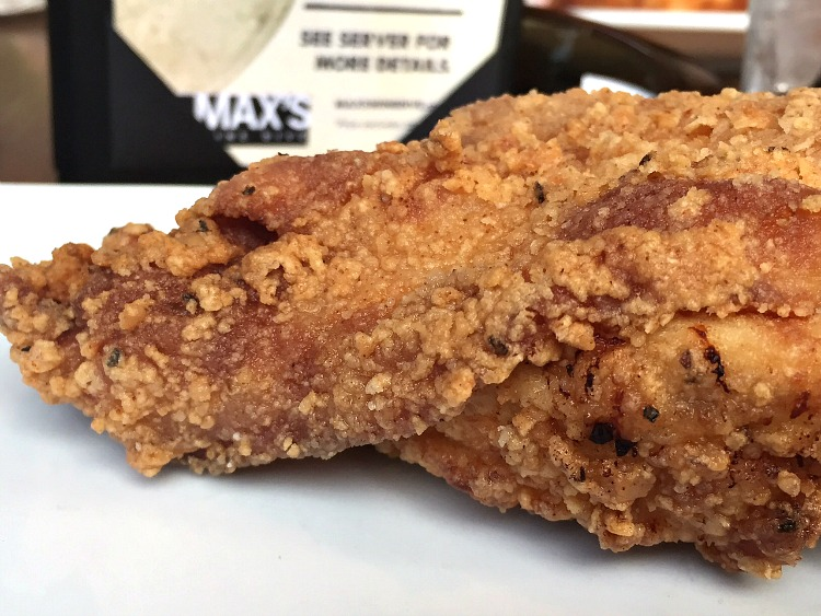 Gluten Free Fried Chicken at Max's Wine Dive in Denver