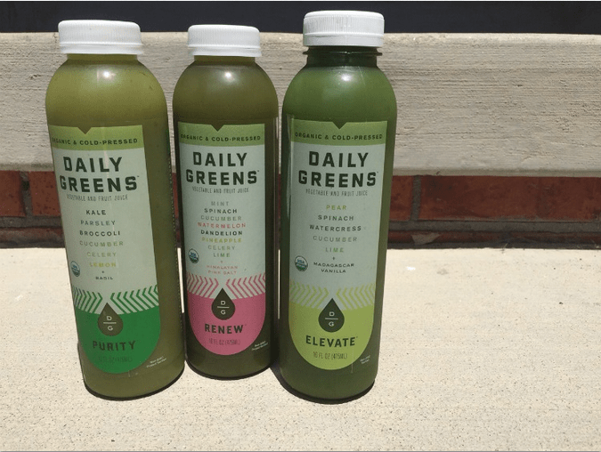 Daily Greens review juice image