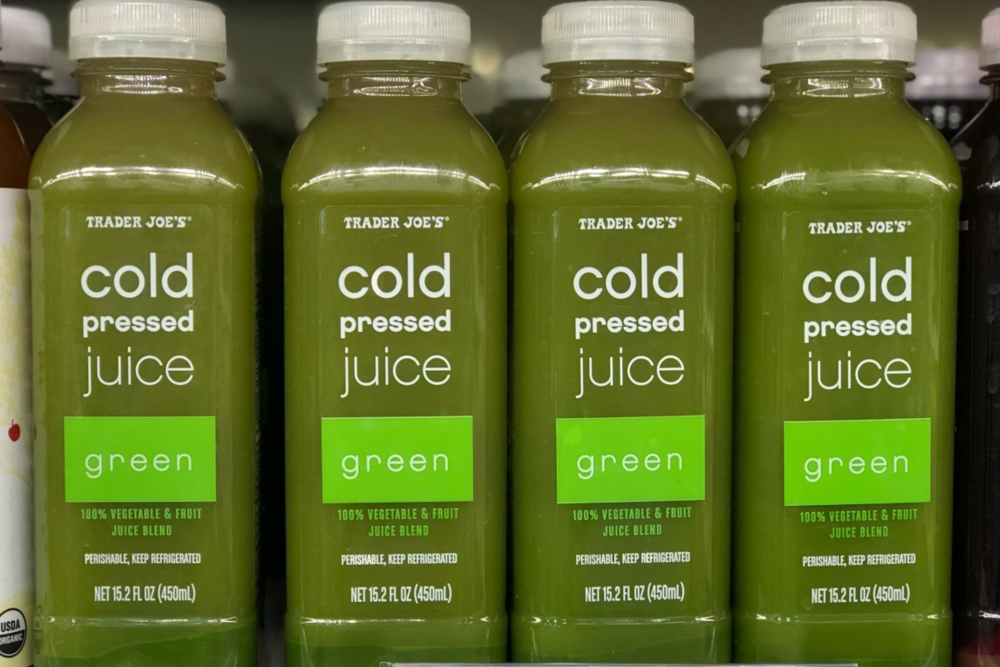 Addicted to Trader Joe's Cold Pressed Juice - Review