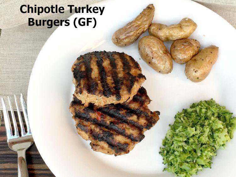 Chipotle Turkey Burger Recipe – Gluten Free!