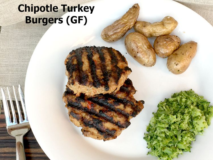Chipotle Turkey Burger Recipe – Gluten Free!