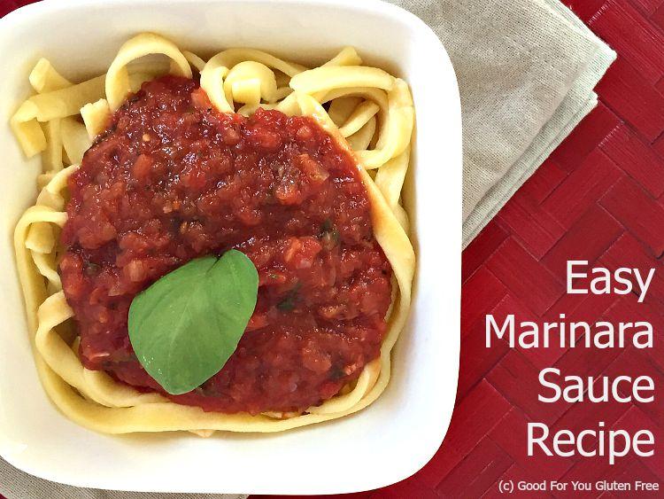 Make Your Own Gluten-Free Marinara Sauce Recipe
