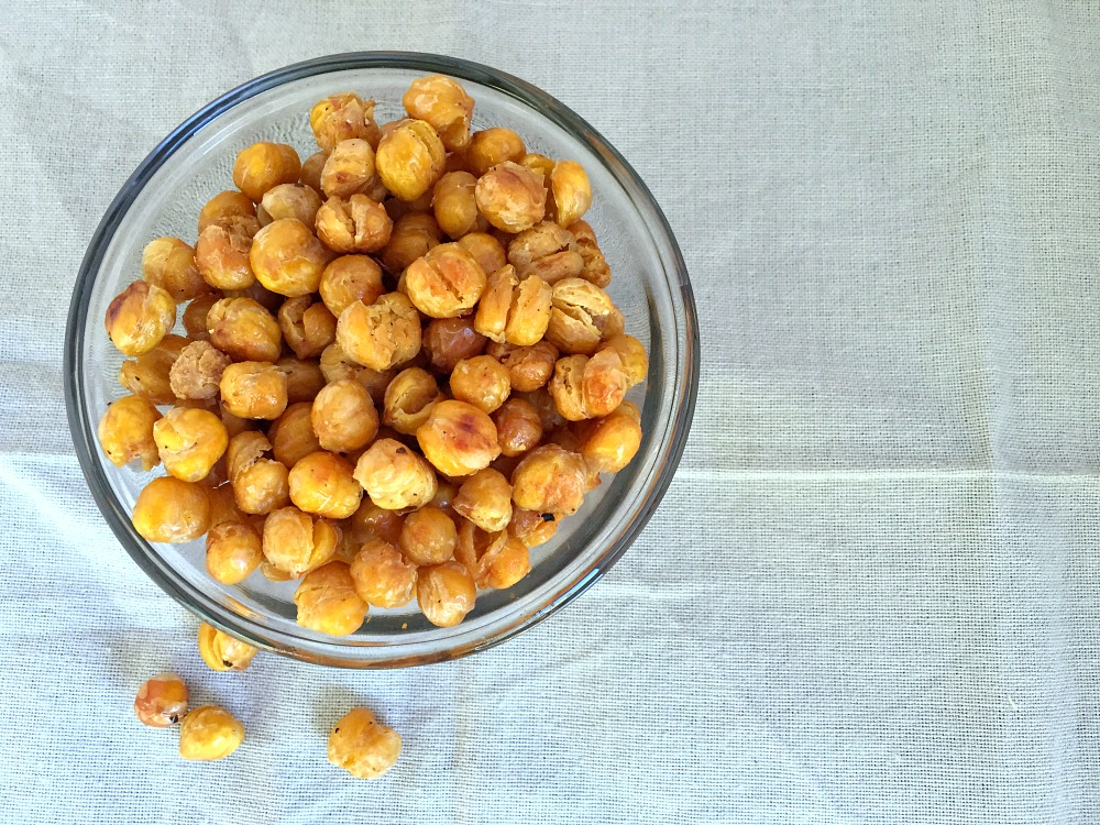 Crunchy Chickpea Baked Snack Recipe