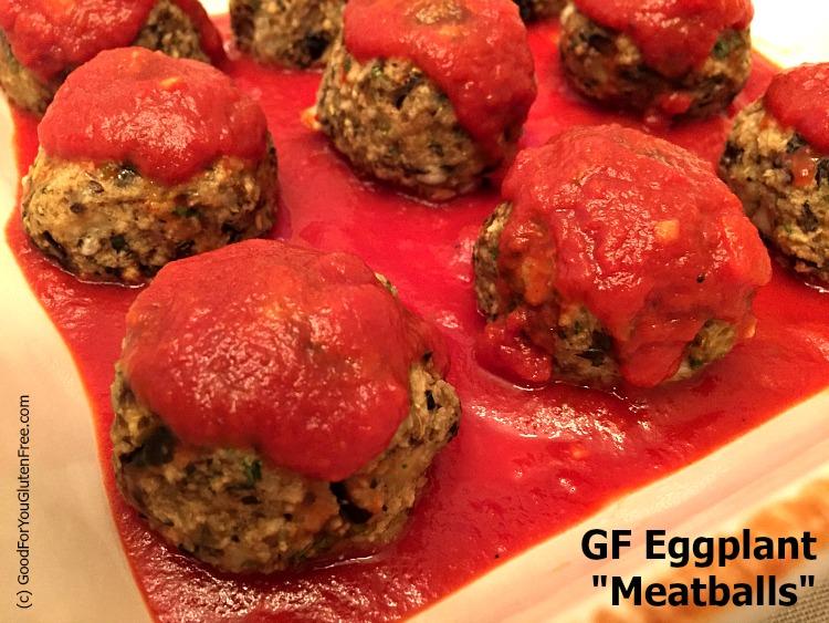 Gluten Free Eggplant Meatball Recipe