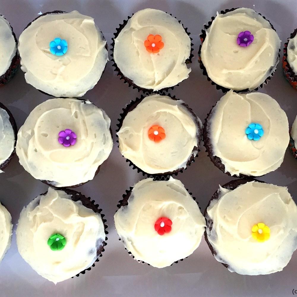 Loving Gluten-Free Chocolate Cupcakes by Namaste